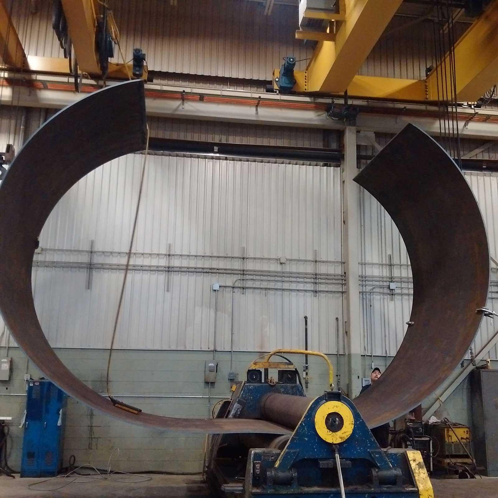 Steel Plate Rolling Double R Steel